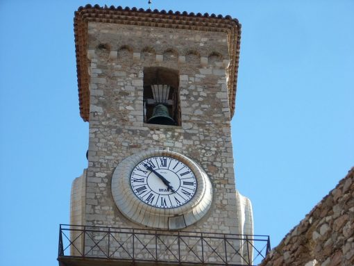 France Cannes clock tower