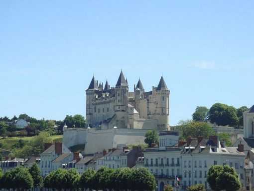 France Loire Valley Castle of Saumur