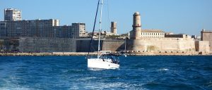 France Marseille Sailing boat