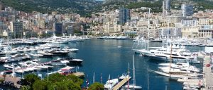 France Montecarlo city view