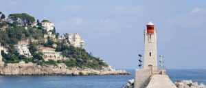 France Nice Lighthouse