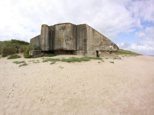 France Noramdny beach Bunker