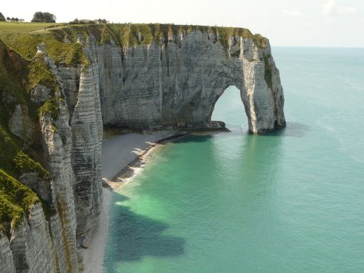 France Normandy Cliffs Etretat