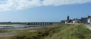 France Normandy beahc and old bridge