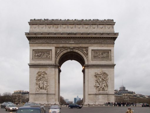 France Paris Arc de triomphe de lÉtoile