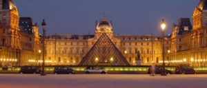 France Paris Louvre at night centered 510x510 1