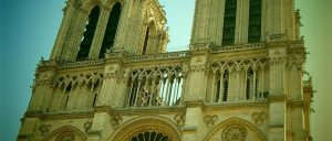 France Paris Notre Dame Cathedral