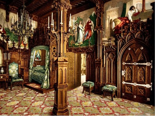 Neuschwanstein Castle Bedroom Germany