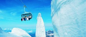 Sitzerland Mount Titlis region IceFlyer