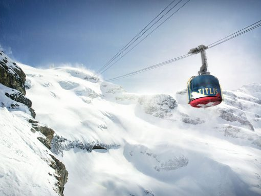 Sitzerland Mount Titlis region New Rotair