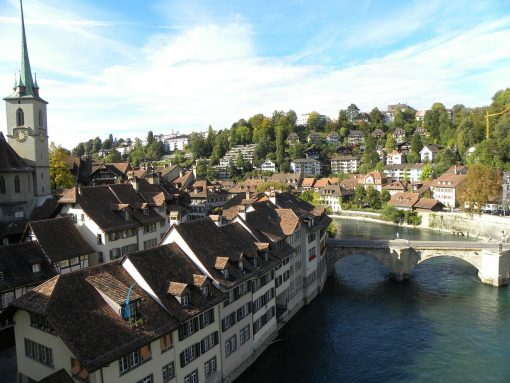 Switzerland Bern Old Town River