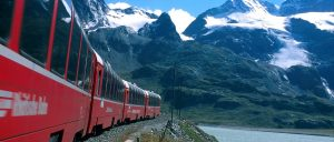 Switzerland Bernina Express Summer