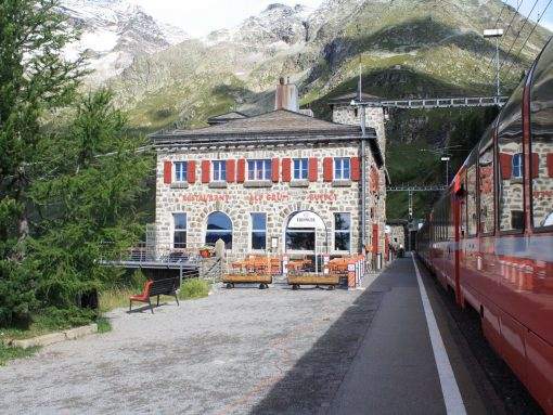 Switzerland Bernina express3