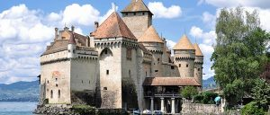 Switzerland Chillon Castle