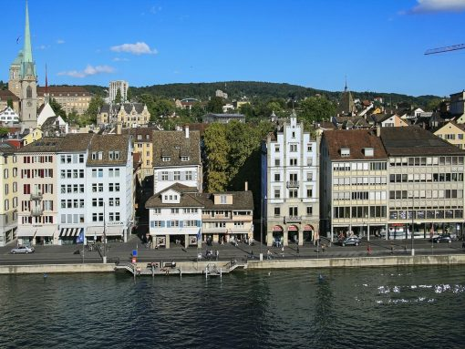 Switzerland Zurich Old Town