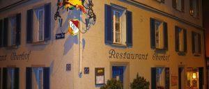 Switzerland Zurich Old Town restaurant