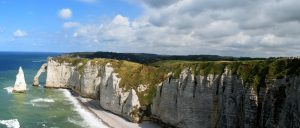 The White Cliffs of Etretat 2