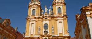 Vienna Melk Abbey church Austria